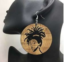 Lady Lock Earring